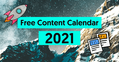 The only Content Calendar Template you'll need in 2021 image