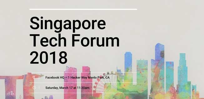 Singapore Tech forum 2018