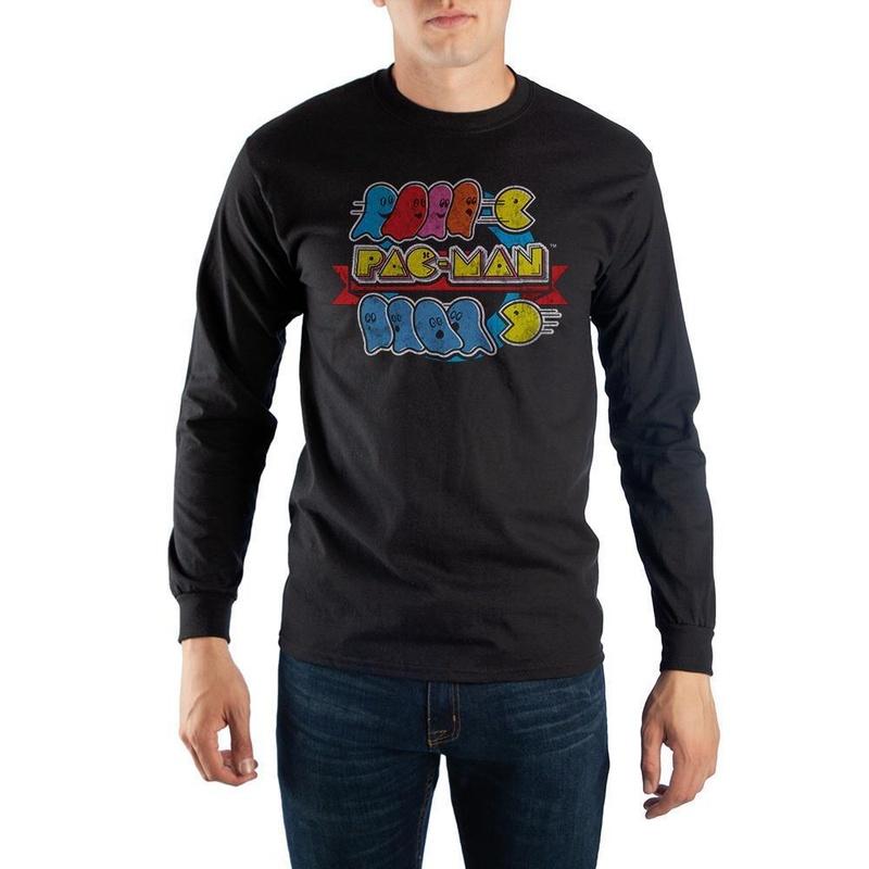 Pac-Man Long Sleeve Tee Shirt