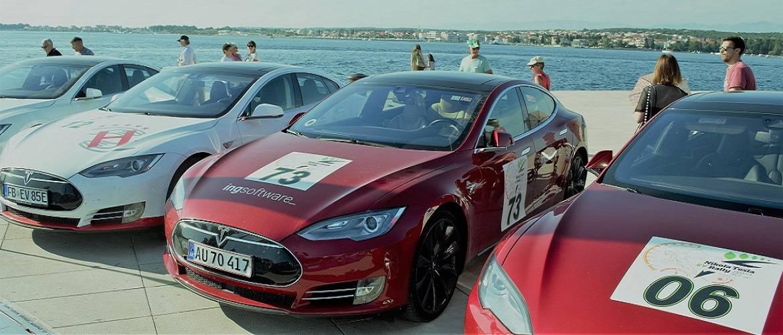 Nikola Tesla EV Rally 2017