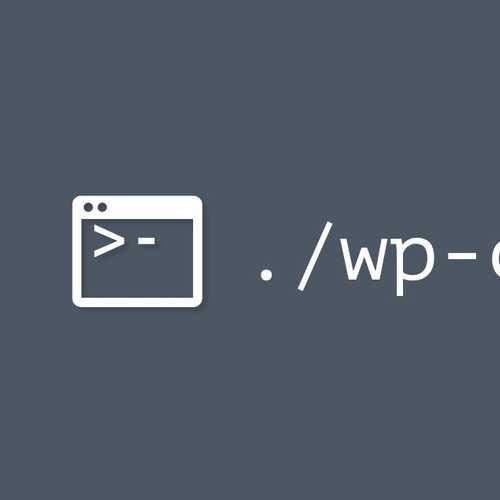 wp cli gray logo