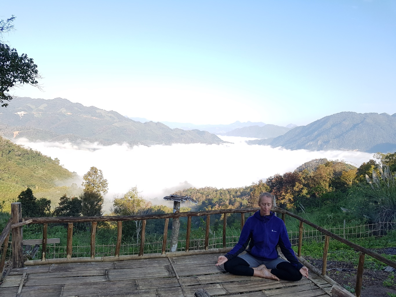 Laos Yoga Mini Vipassana + Mindful Adventure