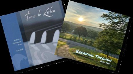 Scott's solo piano albums