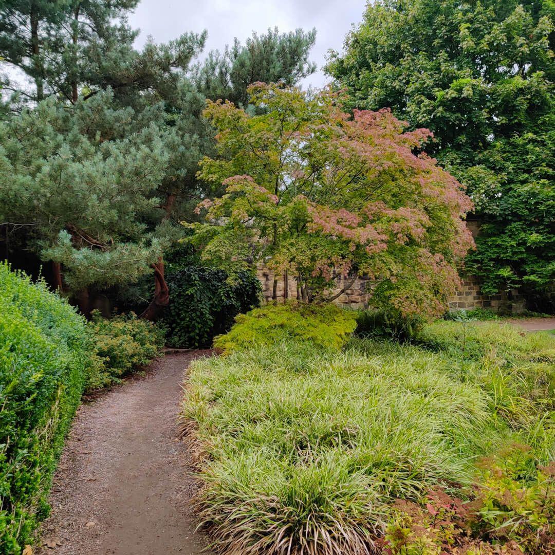 Horsforth Hall Park Japanese Garden path