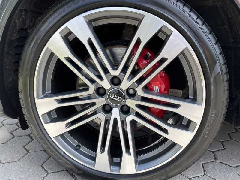 Audi SQ5 3.0TFSI 354pk Quattro Black Optic Lucht HUD Standk B&O Pano Ruitleder Tr.Haak ACC afbeelding 19