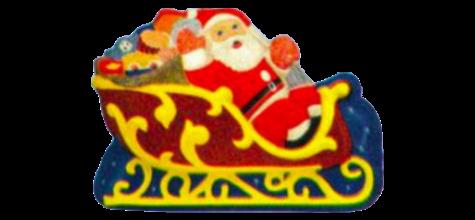 Junior Santa Sleigh, Santa Sleigh photo