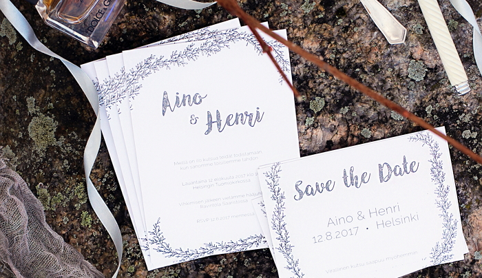 Minimalist invitation and save the date card. Pre-designed collection. Available for order. item thumbnail