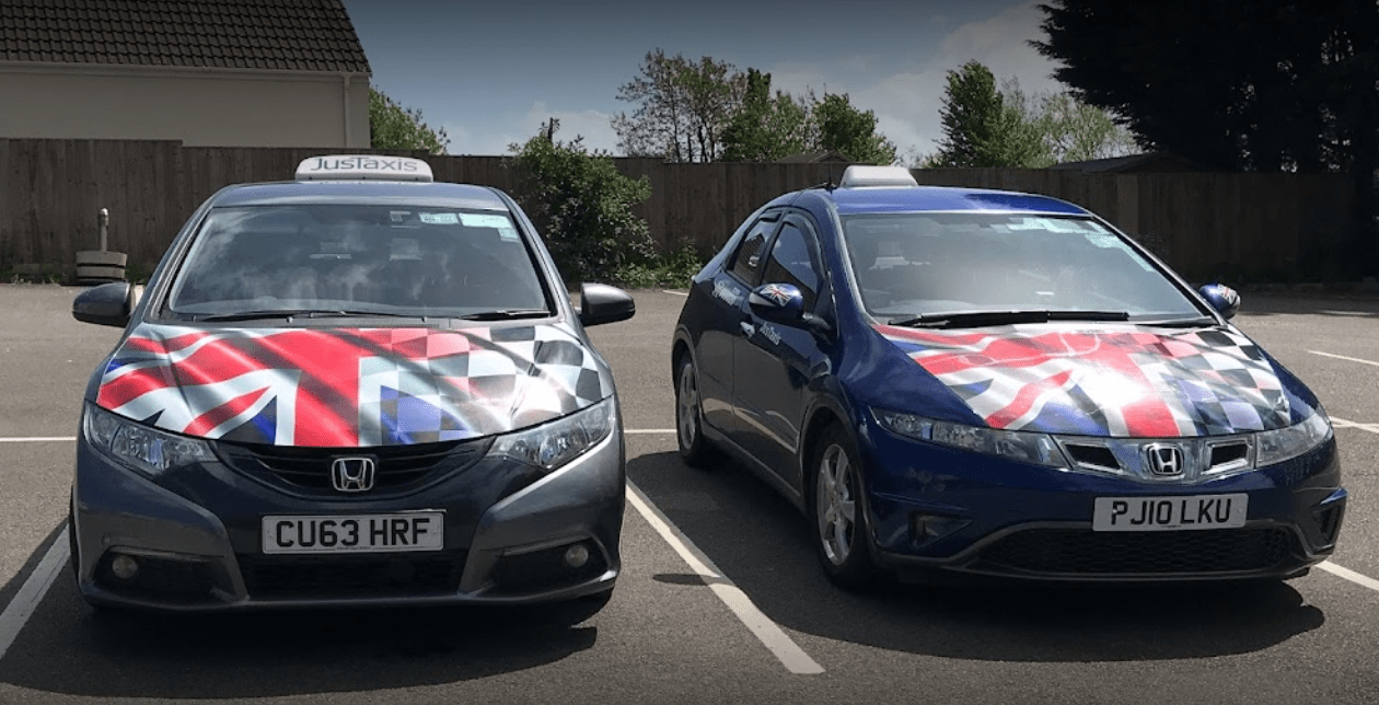 JusTaxis Taxis in Glastonbury