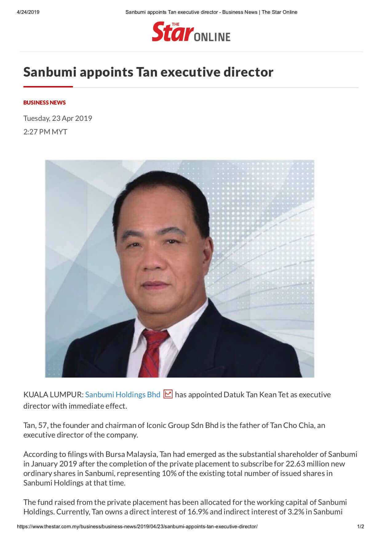 19april23 the star business sanbumi appoints tan executive director1