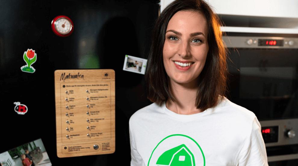Nu kan du beställa hem mat direkt från farmen - utan mobil, datorn eller surfplattan!