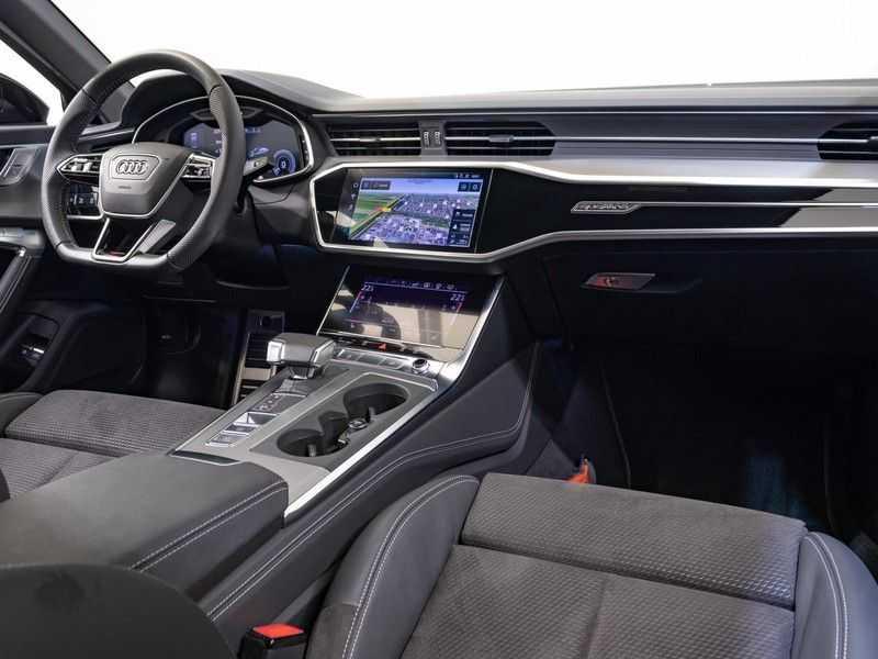 Audi A6 55 TFSI e quattro Competition Plug in Hybrid | 367PK | S-Line | B&O Sound | Nachtzicht | Camera | Adapt.Cruise | Head-Up | Trekhaak | Full Option | afbeelding 19