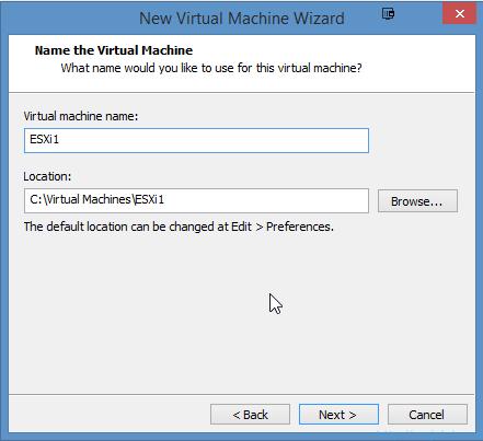 Installing VMware ESXi 6.0 in VMware Workstation 11 - 6