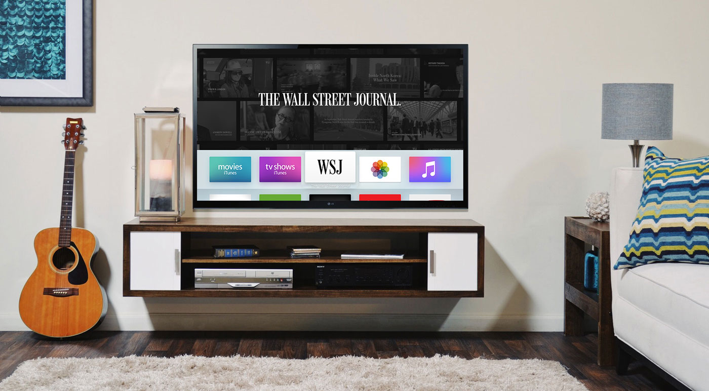 WSJ         Apple TV branding.