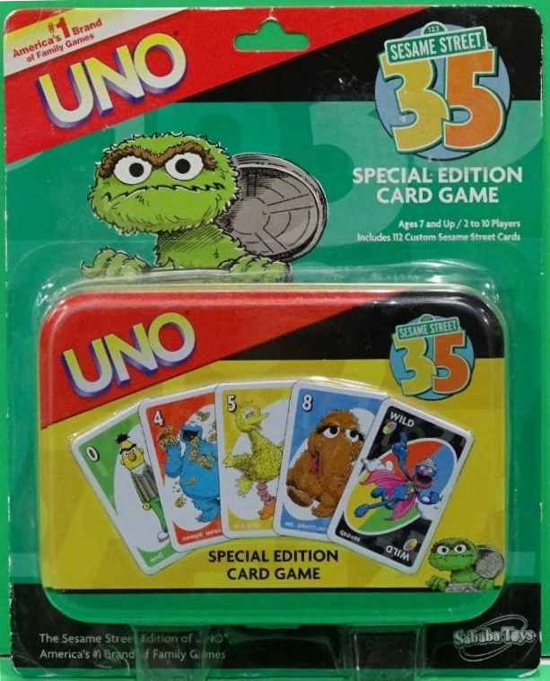 Sesame Street Uno