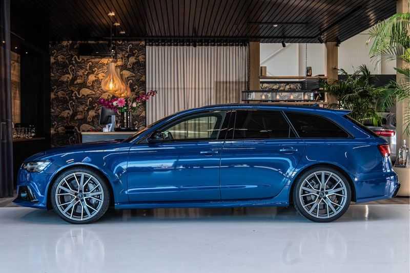 Audi RS6 Avant 4.0 TFSI quattro Performance   Ceramic   B&O   Head-up Display   Panorama   Milltek uitlaatsysteem afbeelding 4