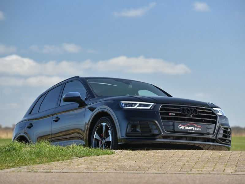 Audi SQ5 3.0TFSI 354pk Quattro Black Optic Alle Opties! Individual Lucht Tr.Haak Standk Ruitleder 360Cam afbeelding 7