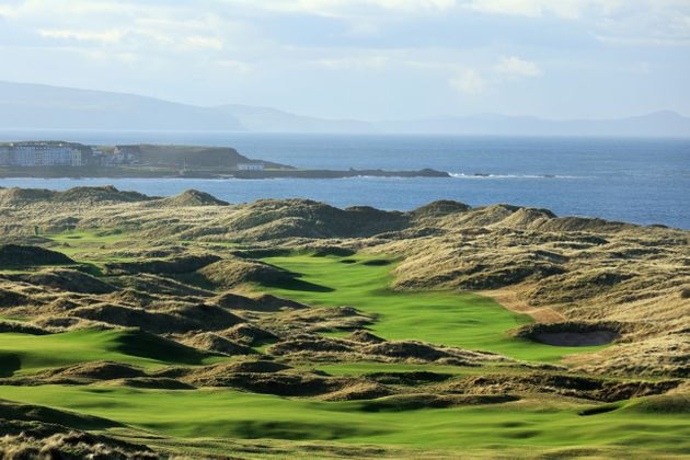 Golf trips to Royal Portrush with Chauffeur Me.