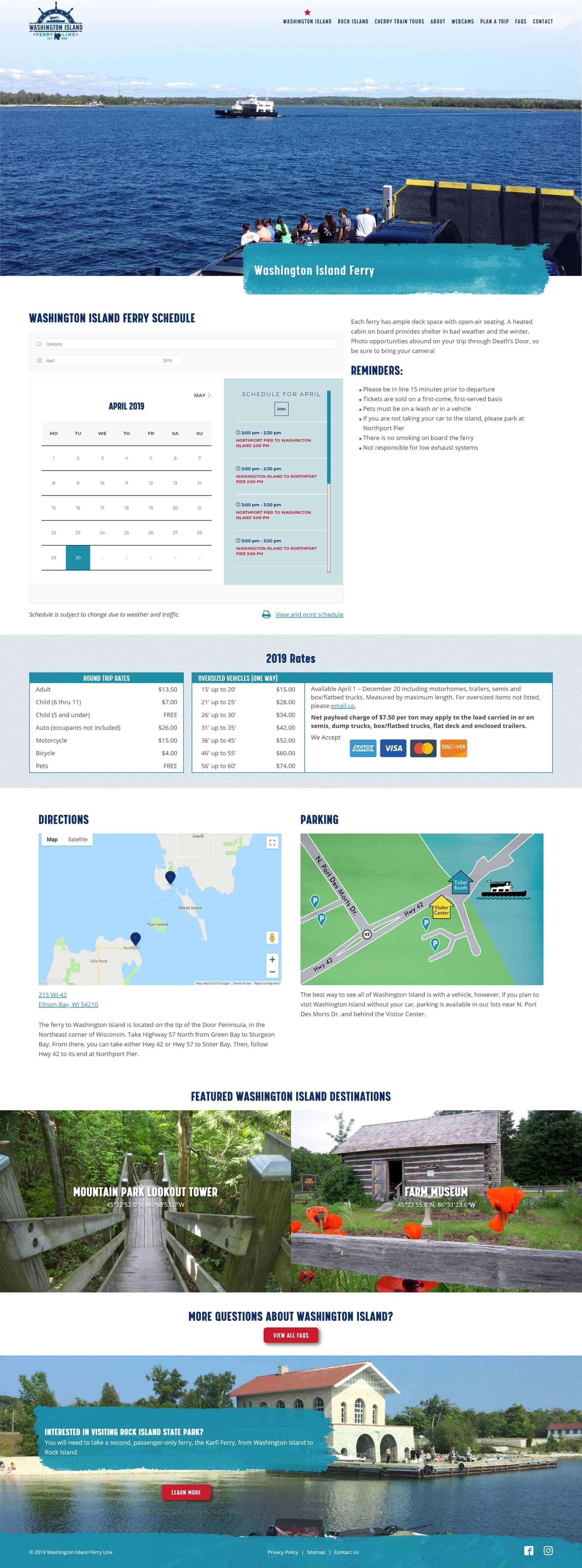 New Washington Island Page