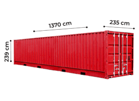 TrawlFeet - Container 45 Feet >