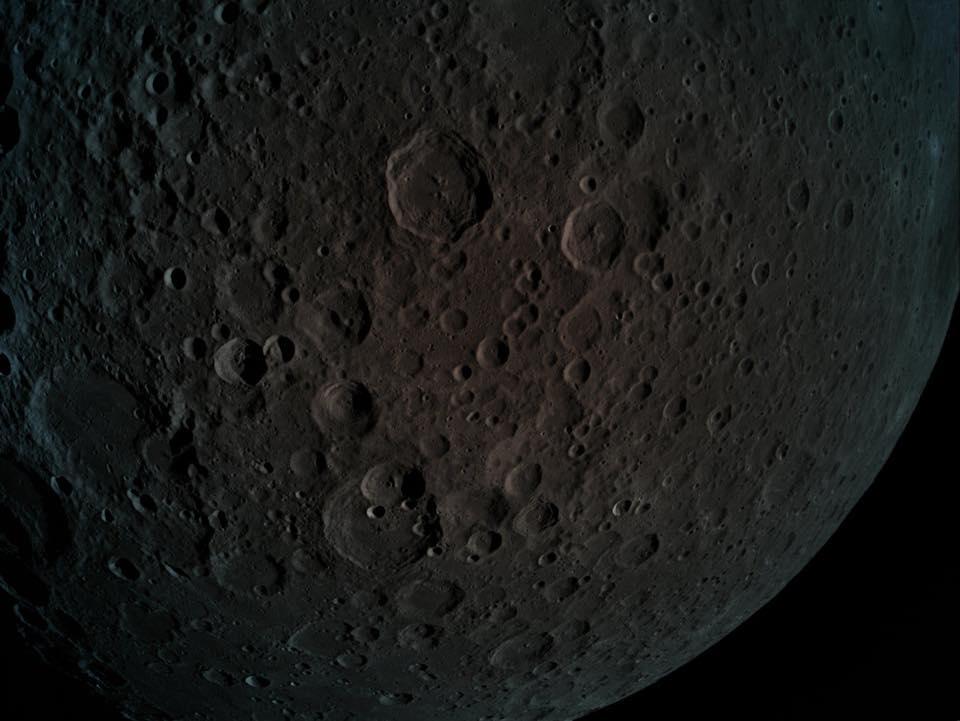 Fața îndepărtată a Lunii, văzută de sonda israeliană Beresheet