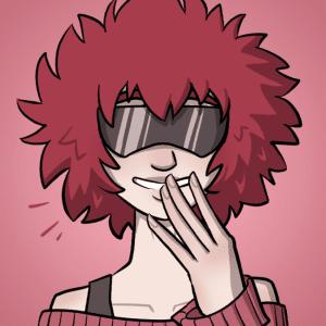 Aoi giggles.