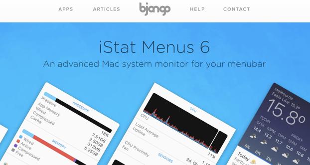 Bjango homepage