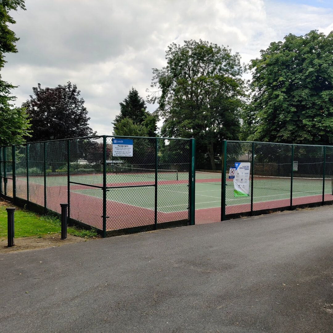 Westroyd Park tennis courts
