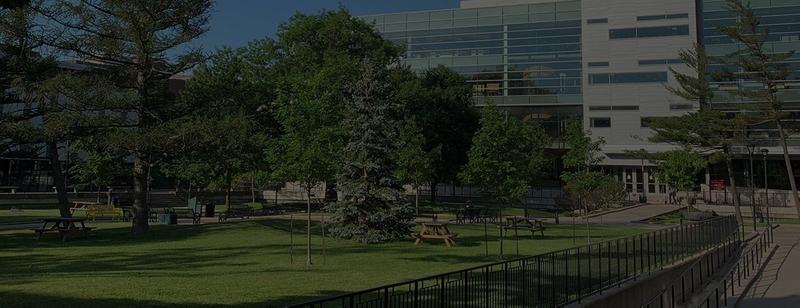 Campus view of Carleton University