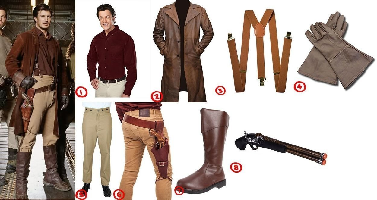 Costume Guide to Malcolm u0027Malu0027 Reynoldsu0027 Style from Firefly  sc 1 st  Costumet & Dress like Malcolm Reynolds Costume for Cosplay u0026 Halloween