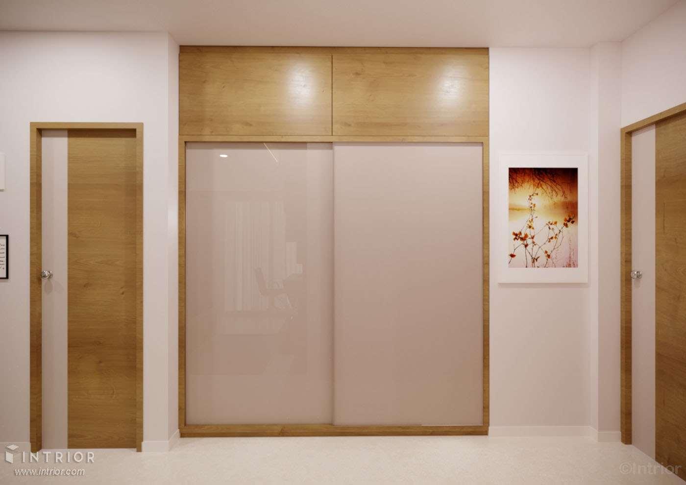 sliding wardrobe arylic shutters