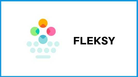 Fleksy - best Keyboard apps