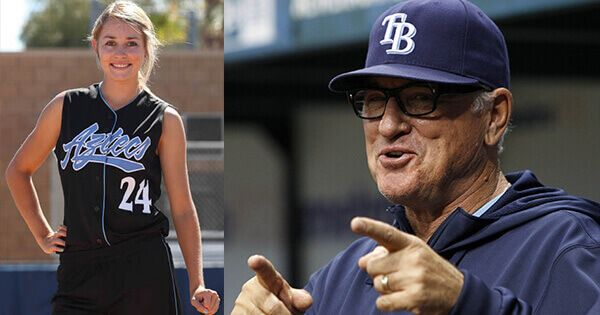 new-cubs-manager-joe-maddon-invites-female-college-softball-player-to-spring-training