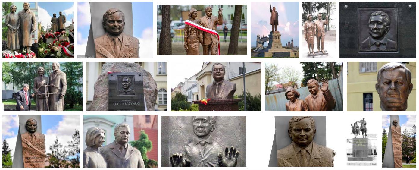 Jesteśmy rekordzistami świata w stawianiu pomników. To ulubione zajęcie polskiej klasy politycznej.