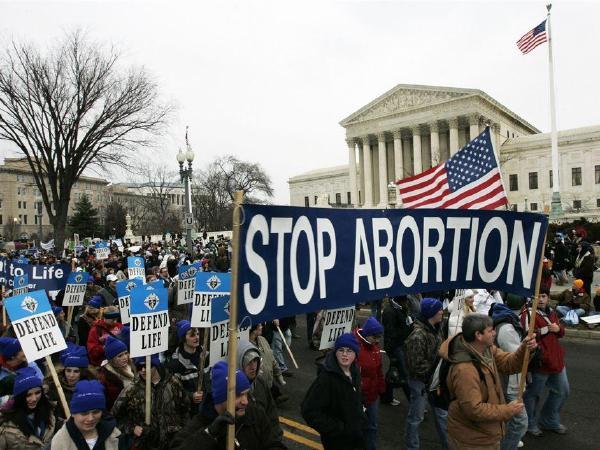 역대최대   반낙태 행진,  워싱턴 DC  개최