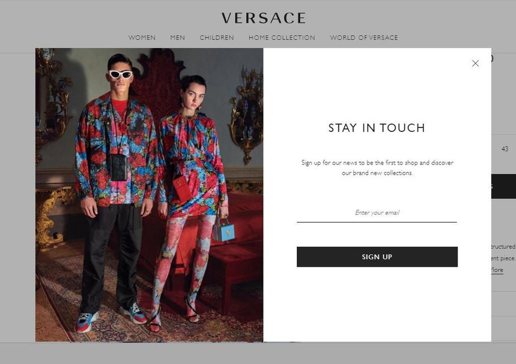 Versace CTA