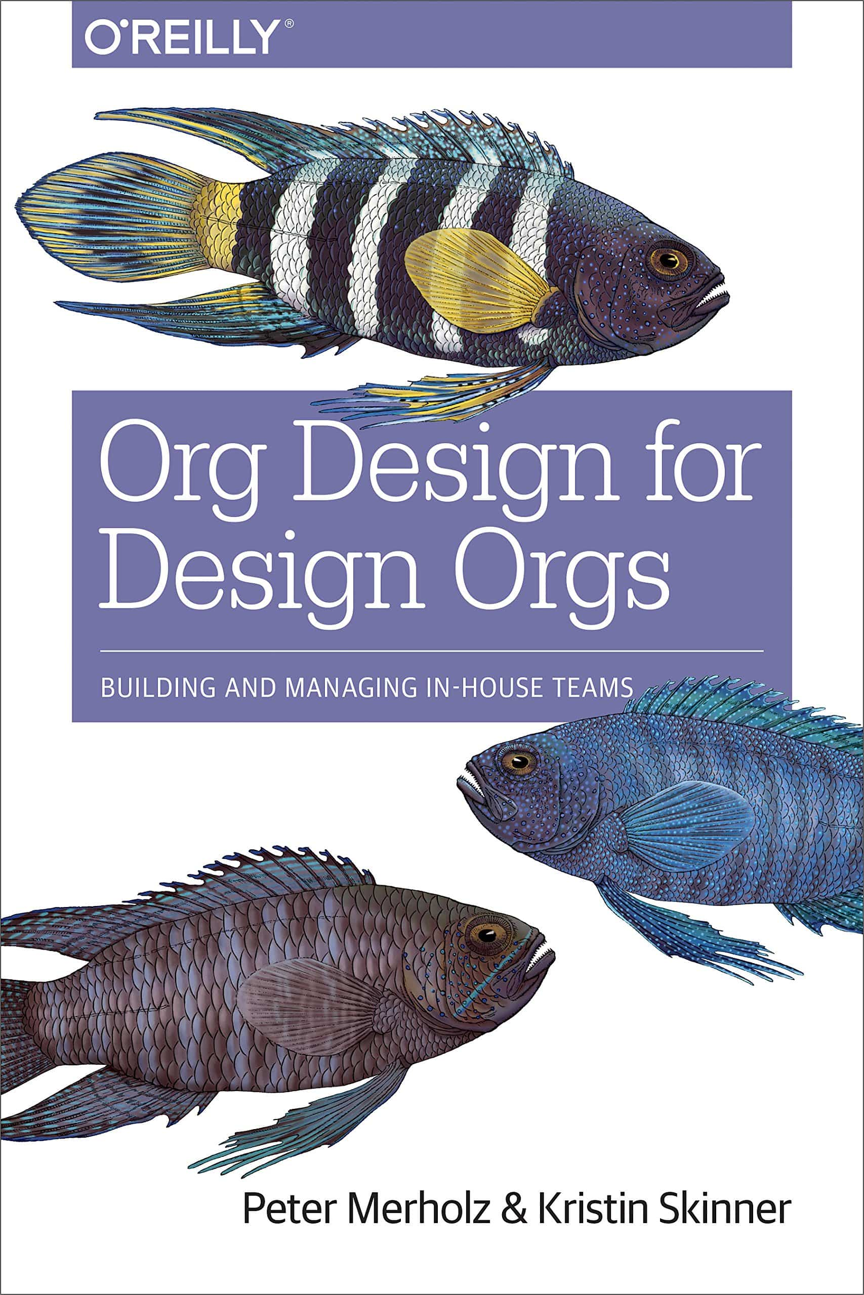 The cover of Org Design for Design Orgs