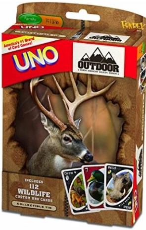 North American Wildlife Uno