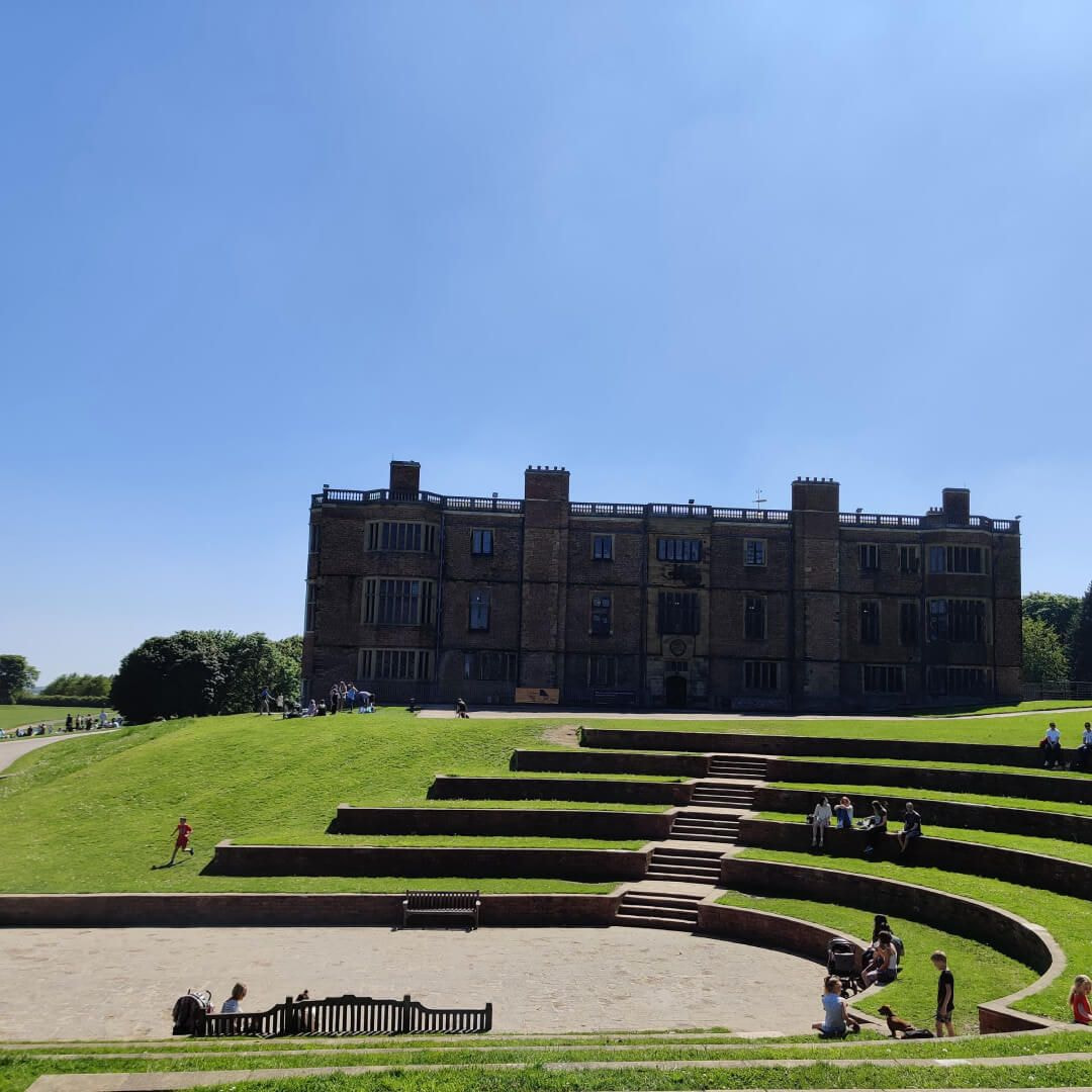 Temple Newsam house and grand stand