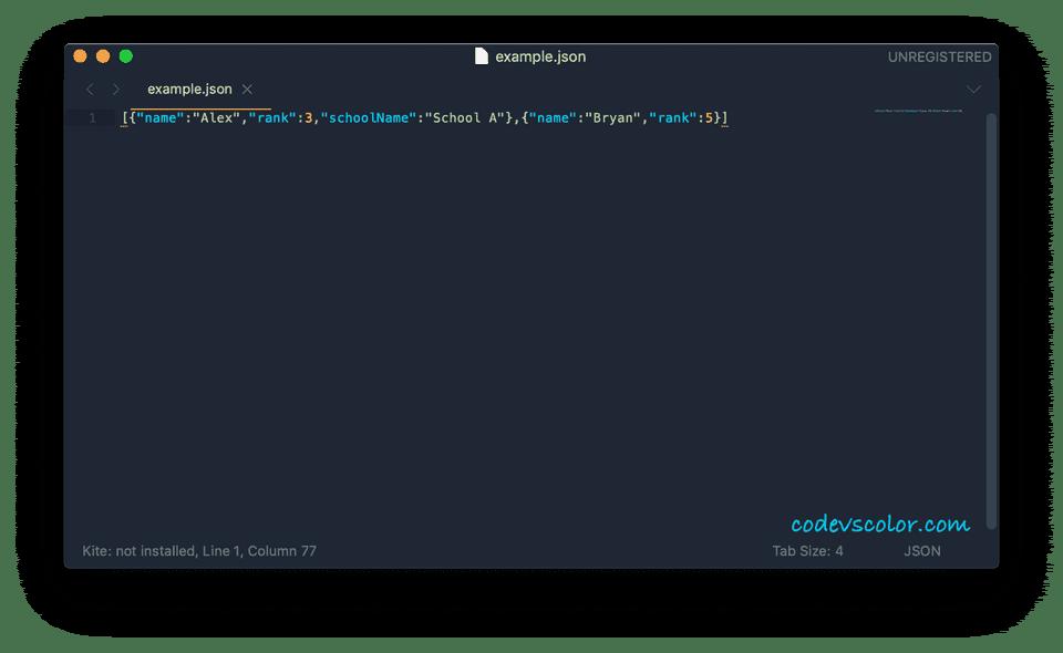 java write json to a file