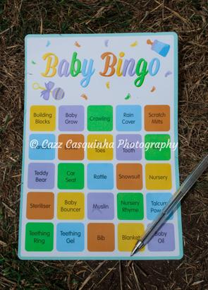 Baby Shower Game - Baby Bingo