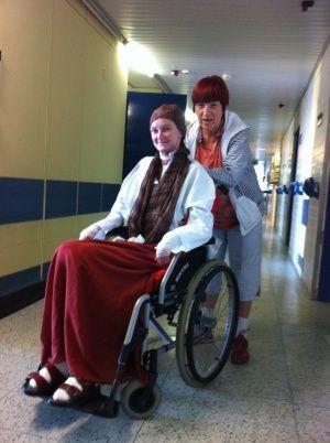 Poděkování za poplatek za hospitalizaci