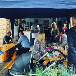 Day 2 hath begun! @antbarnesmuisc playing now and @martinharris8209 from 6pm. Lots of beers and food from @in_fo7581 this afternoon. #beerfestival #localbeer #brewery