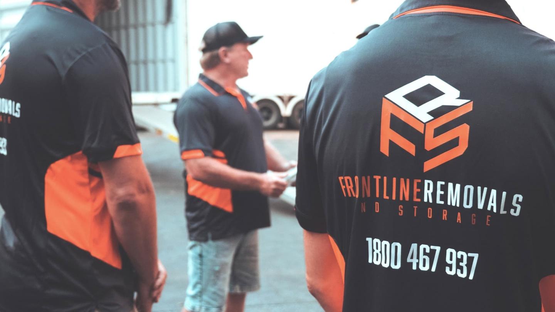 Frontline removalist crew