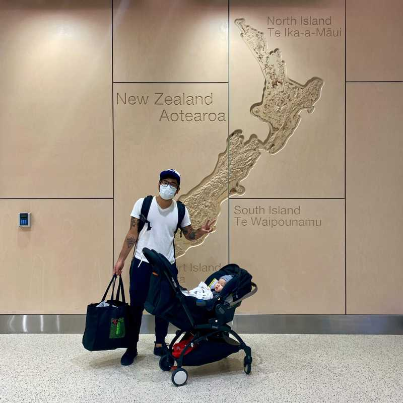 Back in New Zealand