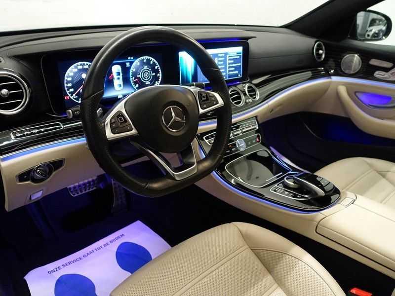 Mercedes-Benz E-Klasse 43 AMG 4Matic Prestige 402pk Aut- Pano, Burmester, Head-up, 360 Camera afbeelding 5
