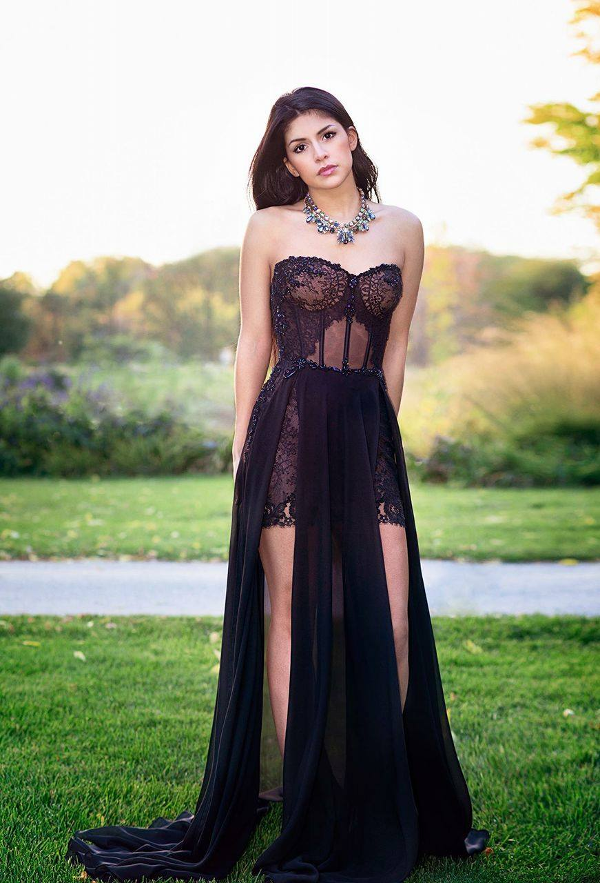 evening dress designer lilia haute couture montreal