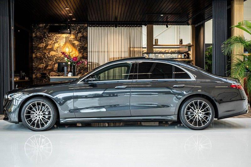 Mercedes-Benz S-Klasse 400d 4Matic Lang AMG | 3D Display | Augmented Head-Up Display | Burmester 3D | Pano | Memory afbeelding 2