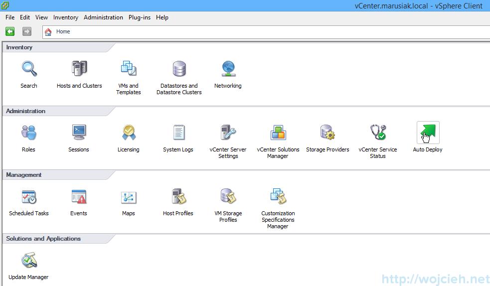VMware vSphere Auto Deploy installation guide - software 1