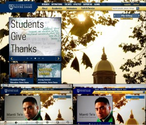 University of Notre Dame composite
