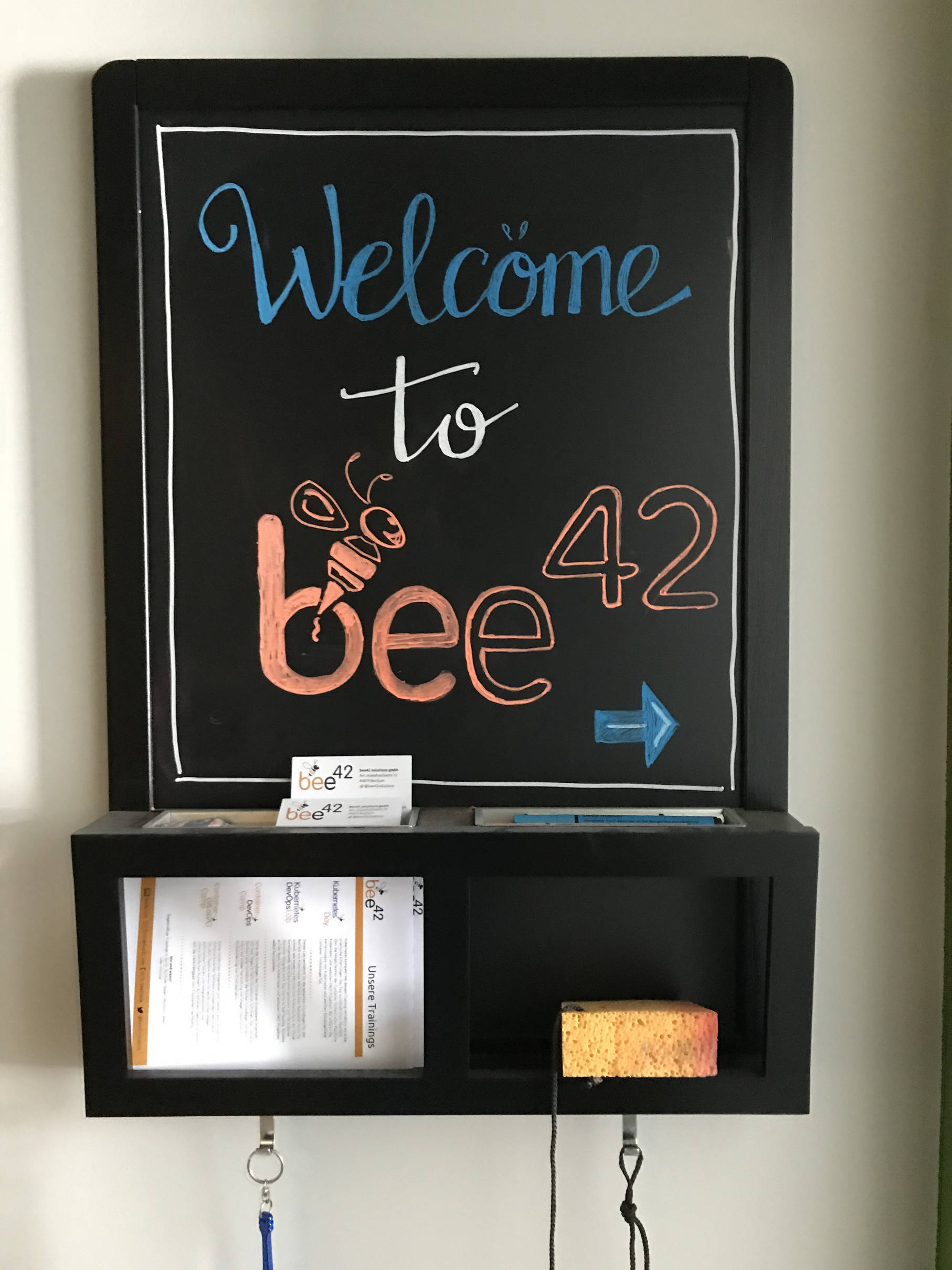 bee42 welcome